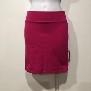 NWOT Pink Mini Skirt